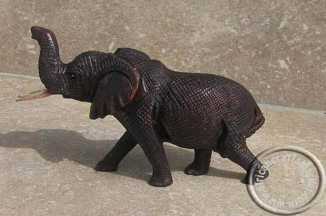 African hand carved iron wood animals from zimbabwe lion