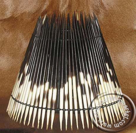 African Porcupine Bedside Lamp Shade