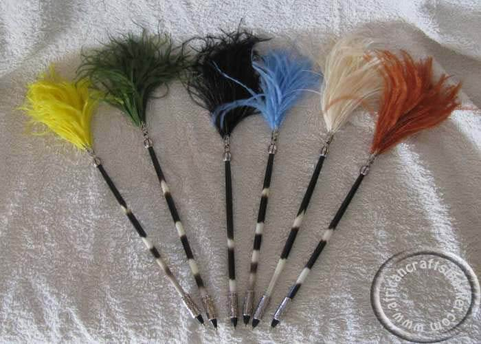 Porcupine quill pens