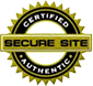 Secure shopping website