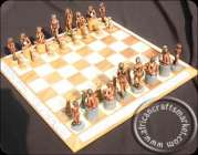African Bushman Chess Sets