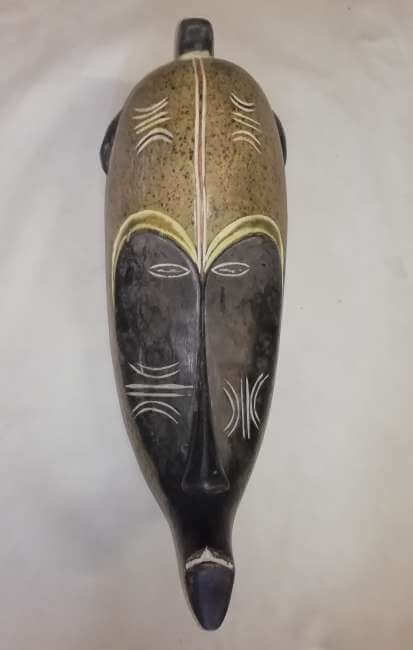 African colourful Fang mask