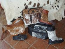 African leather shoi