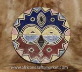 African Handcrafted Teke Mask