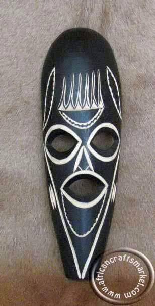 African Swazi mask