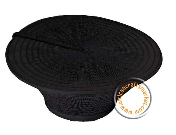 Black Zulu hat