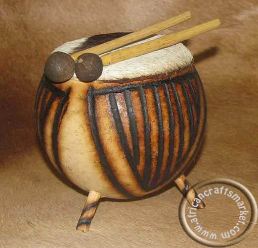 African small Zulu drum