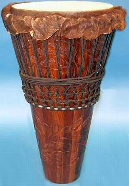 African traditional Ashiko drum