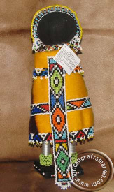 African Ndebele bride dioll