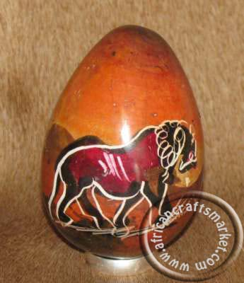 African stone egg - Lion