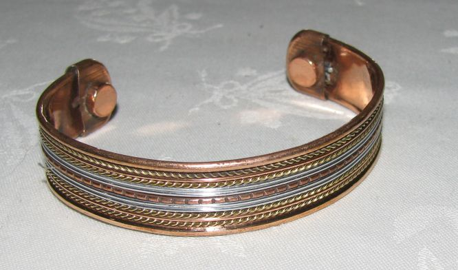 African Metal Wire Magnetic Bracelets