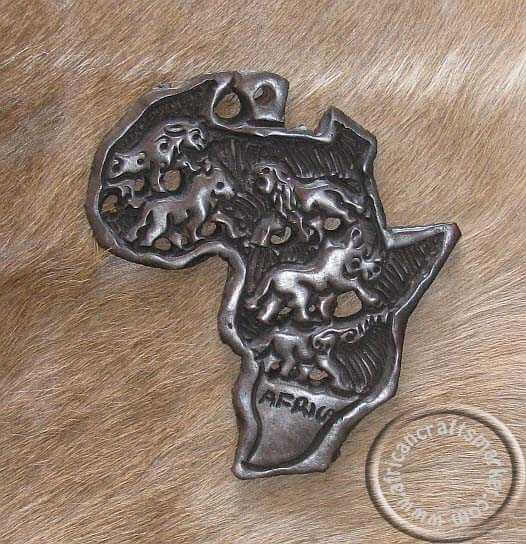 Africam map wall hanging