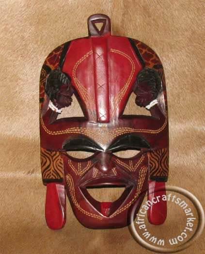 African mask - Maasai