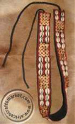 African Tribal Cowrie shell Zulu belt