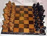 Wooden Tribal African Chess Sets