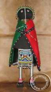 African Initiation Ndebel beaded doll