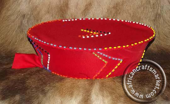 Beaded  Zulu hat
