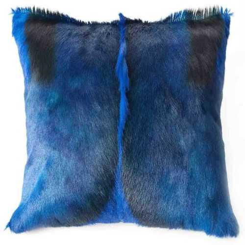 Springbok hide cushion
