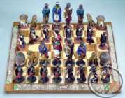 Zulu VS Xhosa - African Chess Sets