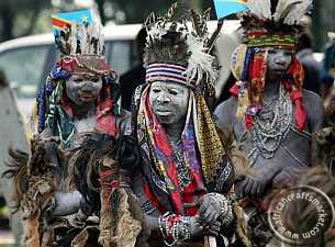 Congo - Teke- tribal people