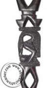 African Ebony wood Mythical creature cane