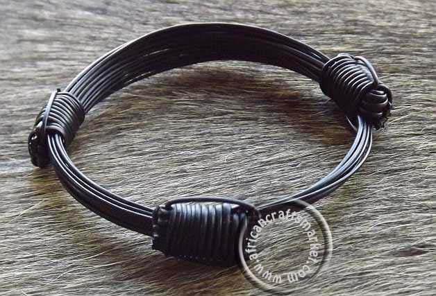 Elephant Hair Bracelet 3 Knot