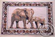 Elephant placemats