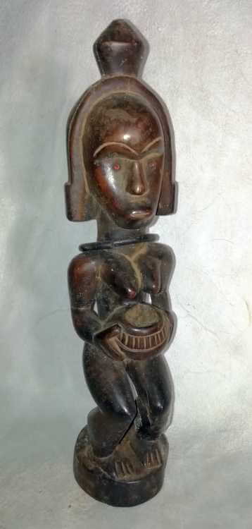 African wooden Fang Figures