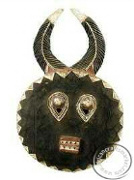 African tribal Goli mask