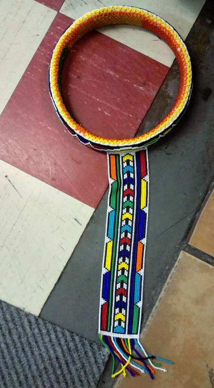 African Ndebele Ring Necklace