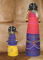 Ceremonial Ndebele dolls