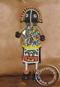 African Ndebele maiden doll