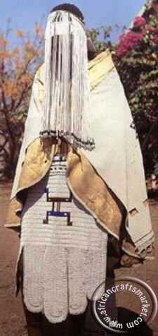 Traditional Ndebele woman ceremony