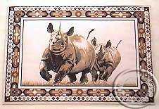 Rhino placemats