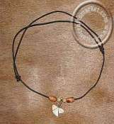 African Tribal Shark Tooth Necklace