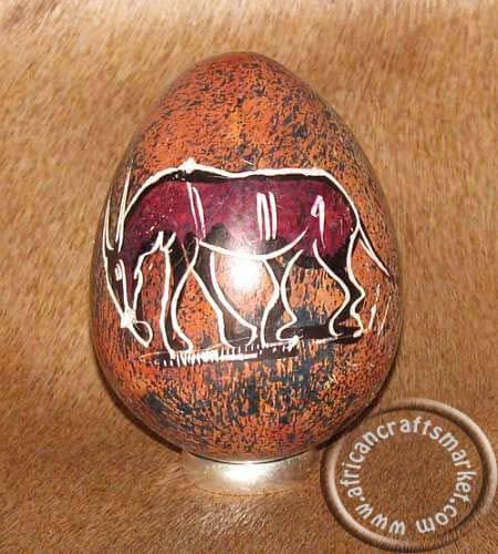 African stone egg - Giselle
