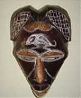 African Tikar wood mask