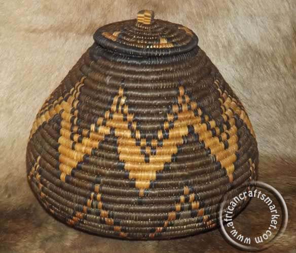 Traditional Zulu Beer Basket