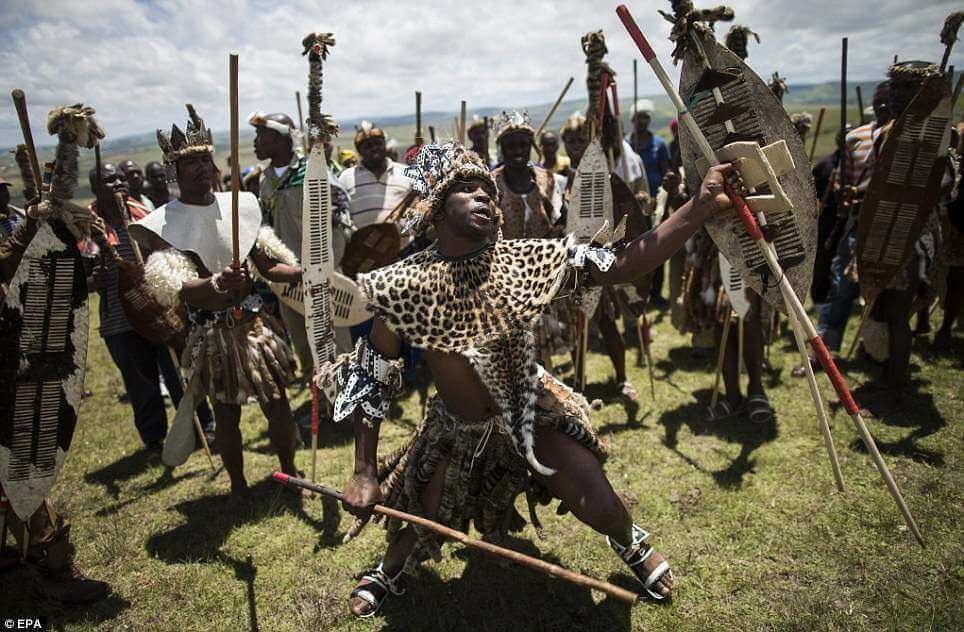Traditional Zulu clothing