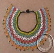 African beaded Zulu necklace