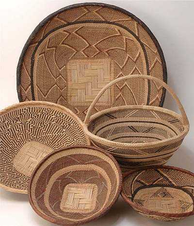Fulani Grass Basket Fulani Basket Woven Grass Basket