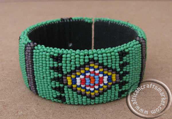 African Zulu Beaded Bracelet