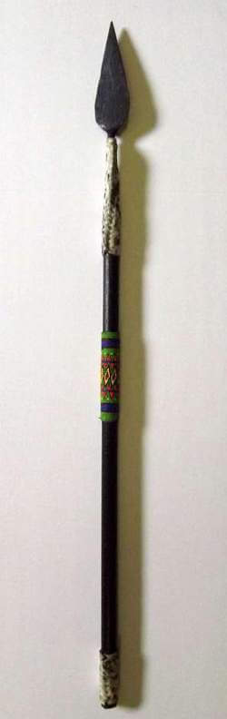African Zulu spear- beaded
