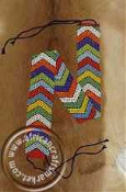 Zulu beaded belt