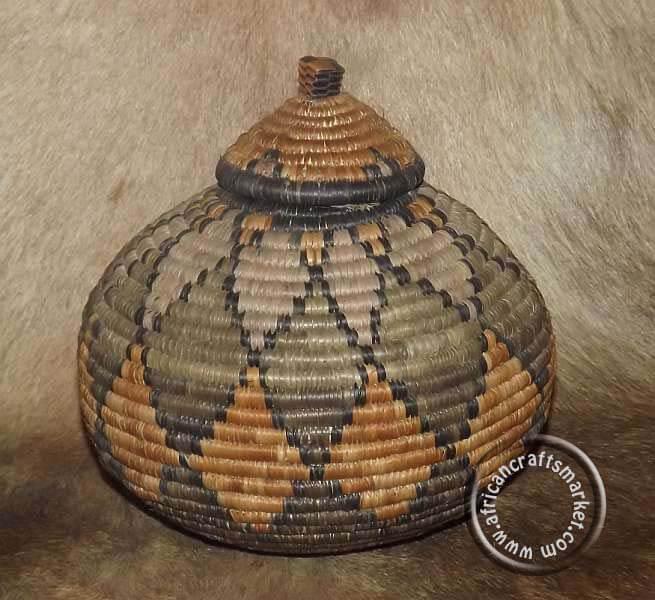 South African Baskets: Zulu Baskets