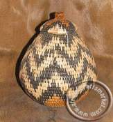 African Zulu Grass Basket Pot