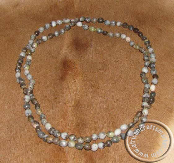 Natural Zulu seed necklace