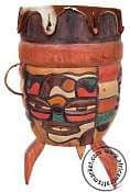 African Tribal Zulu Drum