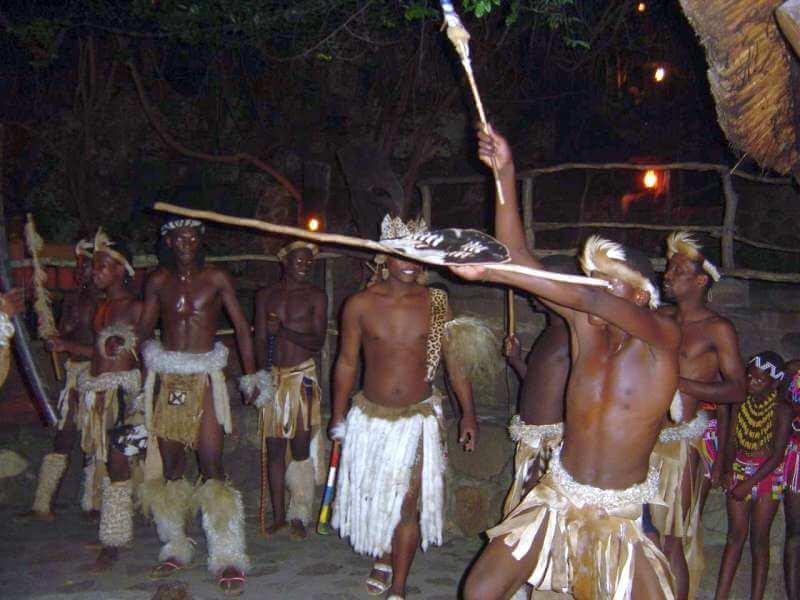 African Traditional 1 M Zulu Shields