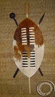 ec802d051 African 45 cm Zulu warrior shield